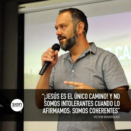 04-08-2019 VÍCTOR RODRÍGUEZ – EL ÚNICO CAMINO