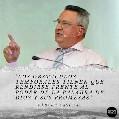 05-07-2020  MAXIMO PASCUAL – RECIBE TUS PROMESAS
