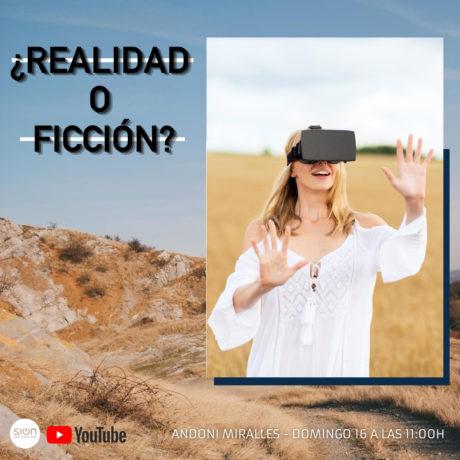 ¿¿REALIDAD O FICCIÓN?? – ANDONI MIRALLES