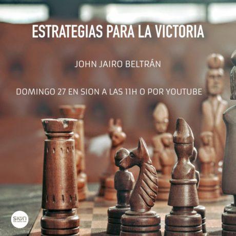 ESTRATEGIAS PARA LA VICTORIA – JOHN JAIRO BELTRÁN