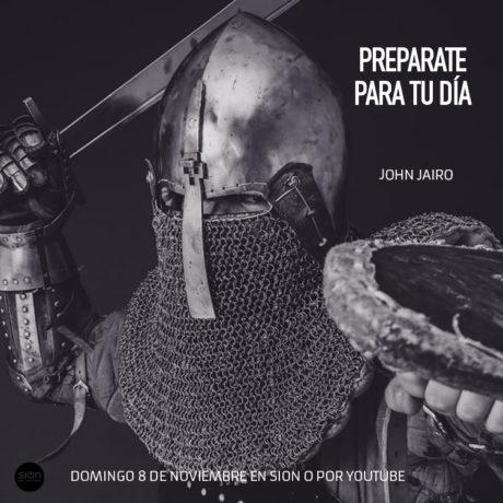 PREPÁRATE PARA TU DÍA – JOHN JAIRO BELTRÁN