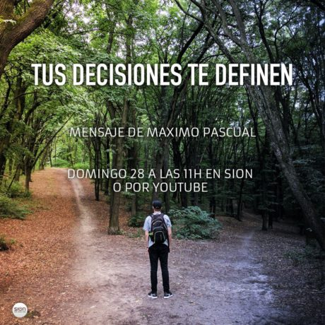 TUS DECISIONES TE DEFINEN – MARCOS PASCUAL