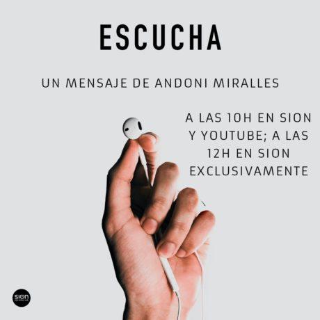 ANDONI MIRALLES – ESCUCHA