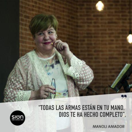 25-07-2021 EL PROBLEMA ES TUYO – MANOLI AMADOR