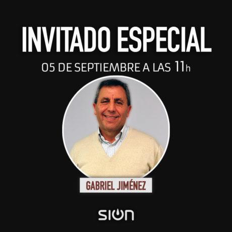 INVITADO ESPECIAL – GABRIEL JIMÉNEZ