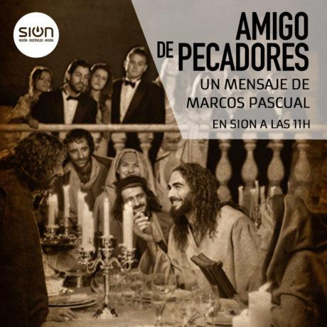 AMIGO DE PECADORES – MARCOS PASCUAL
